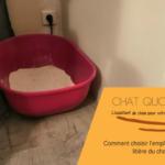 Comment choisir l'emplacement de la litière du chat ?