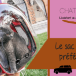 Le sac de transport portable pour chat