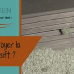 Comment nettoyer sa litière smartsift ?